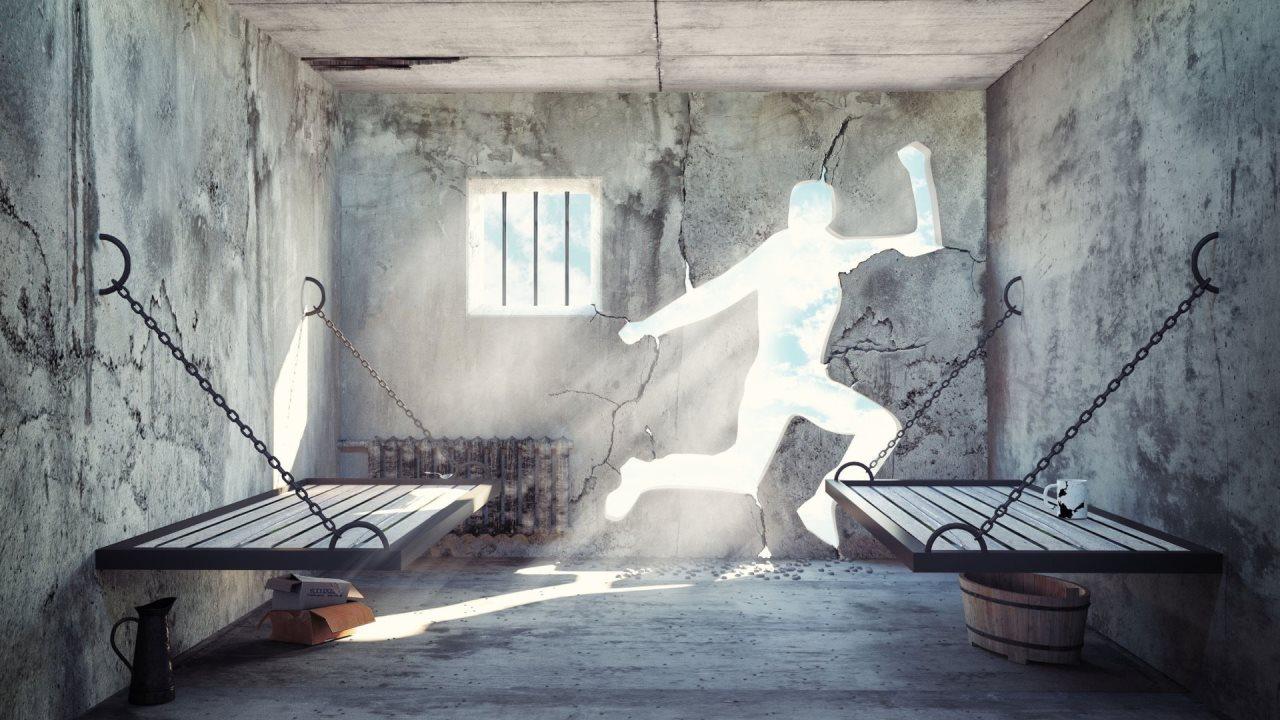 ucieczka z zamkniętego pokoju